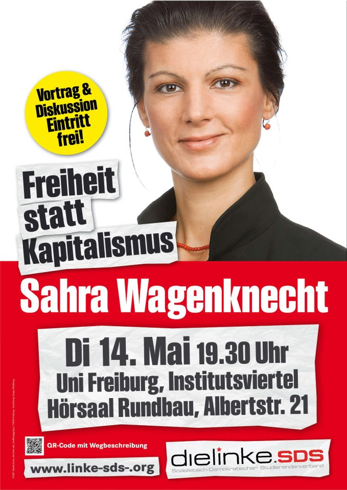 Sahra Wagenknecht in Freiburg